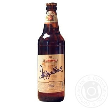 Kalush Browar Exportowe Zhirulivske light beer 3,5% 0,5l - buy, prices for MegaMarket - image 1