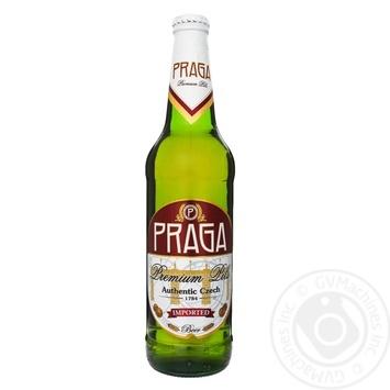 Пиво Praga Premium Pils світле 4,7% 0,5л