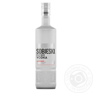 Водка Sobieski Platinum 40% 0,7л