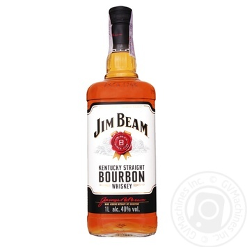 Jim Beam White Bourbon Whiskey 40% 1l - buy, prices for Novus - image 1