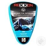 Губка Rexxon для ухода за панелью приборов морской бриз