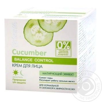 Крем для обличчя Dr.Sante Cucumber 50мл - купити, ціни на Novus - фото 1