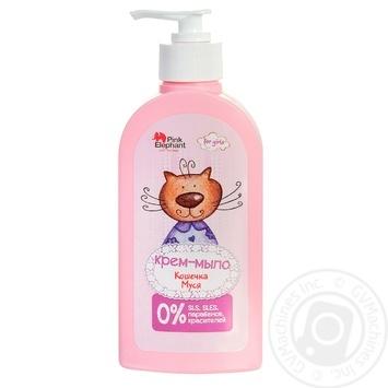 Крем-мило Pink Elephant Кошеня Муся для дітей 250мл