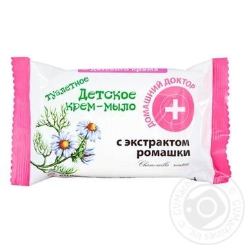 Крем-мыло Домашний Доктор детское с экстрактом ромашки 70г - купить, цены на Novus - фото 1