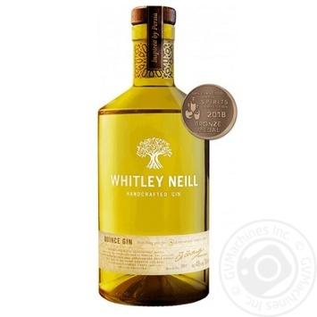 Джин Whitley Neill Quince Айва 43% 0,7л