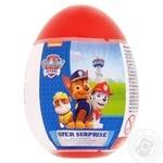Яйцо-сюрприз Bip Paw Patrol с фруктовыми конфетами