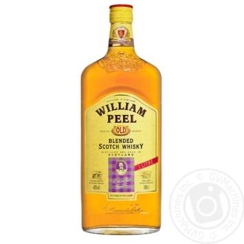 Віскі William Peel 40% 1л - купити, ціни на МегаМаркет - фото 1