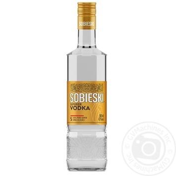 Sobieski superior vodka 40% 0,5l - buy, prices for Novus - image 1