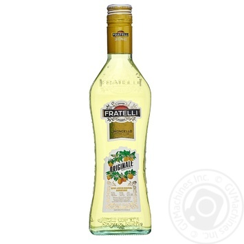 Fratelli Limoncello white sweet vermouth 12.5% 0,5l - buy, prices for Novus - image 1
