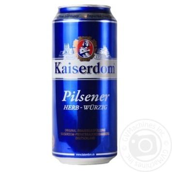 Пиво Kaiserdom Pilsener Herb-Wurzig светлое 4,7 % 0,5л