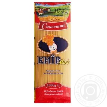 Изделия макаронные Киев микс вермишель длинная спагетти 1кг - купить, цены на Novus - фото 2