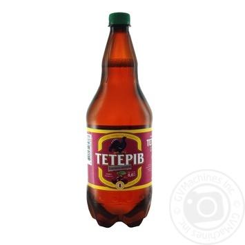Пиво ППБ Тетерев Хмельная вишня полутемное 8% 1,2л