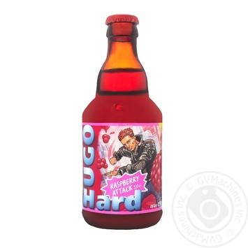 Пиво Beermix Hugo Малина 6.0% 0,33л - купити, ціни на Novus - фото 1