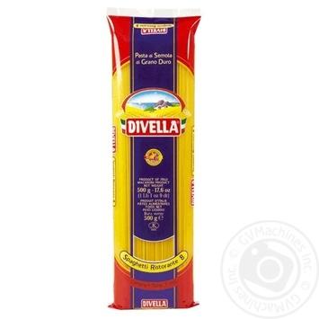 Макаронные изделия Divella Spaghetti Ristorante №8 500г - купить, цены на Novus - фото 1