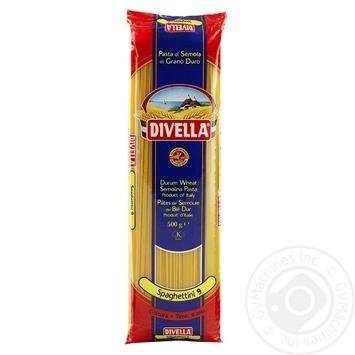 Макаронные изделия Divella Spaghettini №9 500г