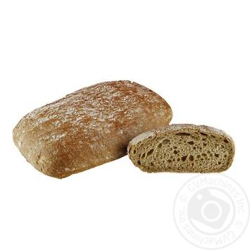 Чиабата из пшеничной муки с добавлением солода 90г - купить, цены на Novus - фото 1