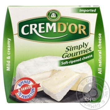 Сир Cremd'or 60% 125г