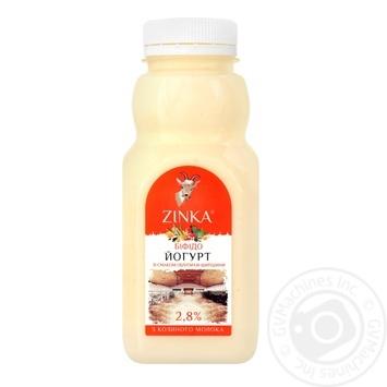 Бифидойогурт Zinka из козьего молока со вкусом Облепихи-Шиповника 2,8% 300г - купить, цены на Novus - фото 1