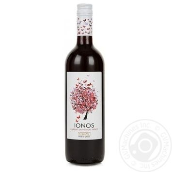 Cavino Ionos red dry wine 12% 0,75l - buy, prices for Novus - image 1
