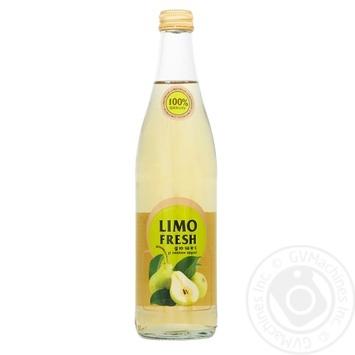 Напиток безалкогольный Limofresh Дюшес со вкусом груши сильногазированный 0,5л