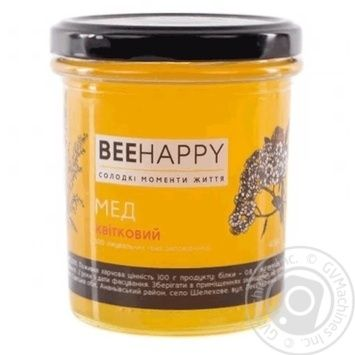 BeeHappy Flower Honey 400g - buy, prices for Novus - image 1