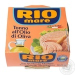 Тунець Rio Mare в оливковій олії 160г