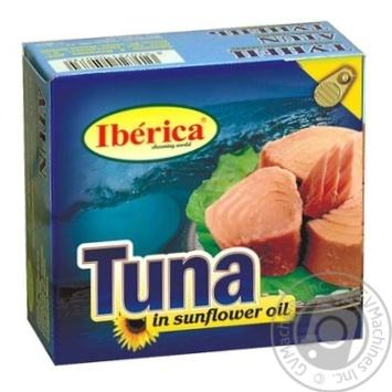 Тунец Иберика в подсолнечном масле 160г Испания - купить, цены на Novus - фото 1