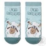 Шкарпетки дитячі Tip-Top Conte Kids 18С-267СП, розмір 14, 423 блідо-бірюзовий