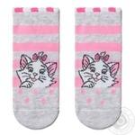 Шкарпетки дитячі Disney Conte Kids 17С-126/1СПМ, розмір 14, 450 світло-сірий-рожевий - купить, цены на Novus - фото 1