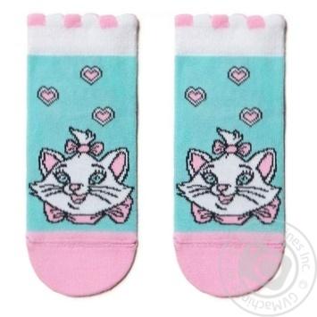Шкарпетки дитячі Disney Conte Kids 17С-126СПМ, розмір 16, 456 блідо-бірюзовий - купити, ціни на Novus - фото 1
