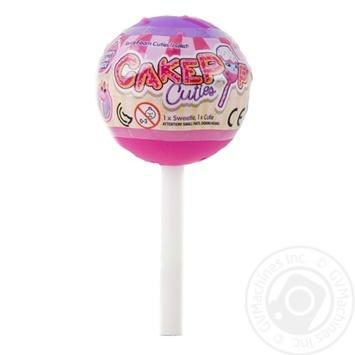 Іграшка CakePop Cuties сюрприз 27120 шт - купити, ціни на МегаМаркет - фото 1