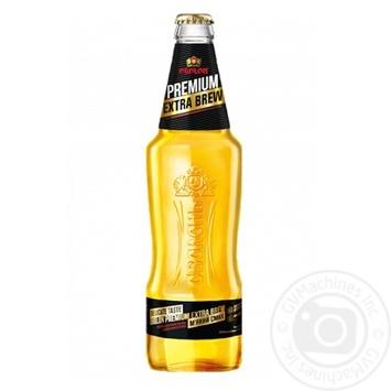 Пиво Оболонь Premium Extra Brew светлое 4,6% 1л