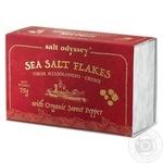 Сіль морська Salt Odyssey з органічним солодким перцем 75г