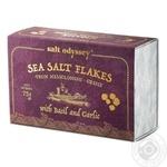 Сіль морська Salt Odyssey з базиліком та часником  75г