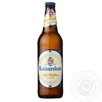Kaiserdom Hefe-Weißbier light pasteurized beer 4,7 % 0,5l - buy, prices for Novus - image 1