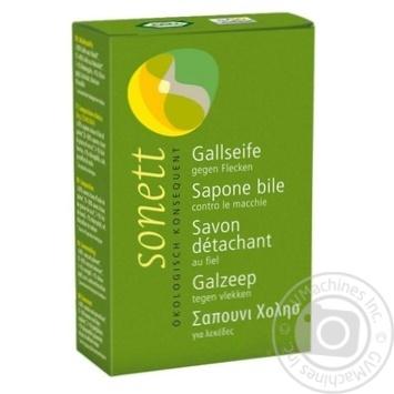 Мыло для стирки Sonett органическое (желчное мыло) 100г - купить, цены на Novus - фото 1