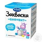 Vivo Bifit Bacterial Milk Starter 4pcs 0.5g - buy, prices for Novus - image 1