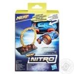 Машинка игрушечная Hasbro Nerf Nitro с препятствием в наборе в ассортименте