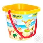 Іграшка Відро квадратне IML 2л Wader 71714