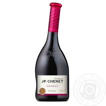 Вино J.P. Chenet Shiraz красное сухое 0.75л - купить, цены на МегаМаркет - фото 1