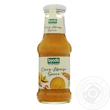 Соус Byodo Organic карри-манго 250мл - купить, цены на Novus - фото 1