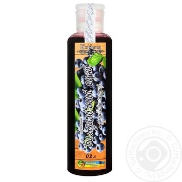 Оцет бальзамічний Kukhana чорничний з плодами чорниці 200мл - купити, ціни на Novus - фото 1