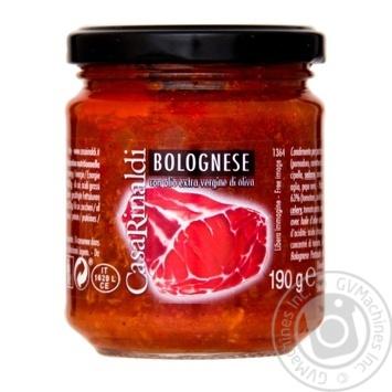 Sauce Casa rinaldi tomato 190g glass jar - buy, prices for Novus - image 1