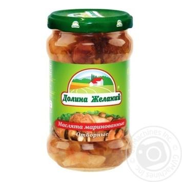 Dolina Zhelaniy Pickled Suillus 314g - buy, prices for Novus - image 1