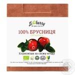 Паста LiQberry из ягод брусники 550г