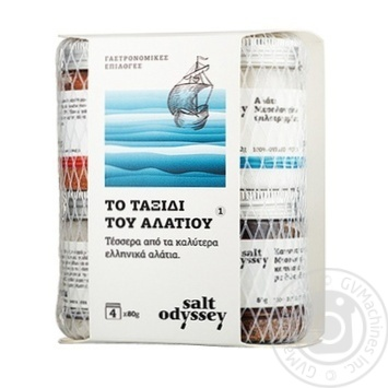 Набір морської солі Salt Odyssey 4шт 80г