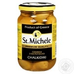 St.Michele Green Olives with Bone 355g