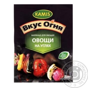 Смесь для маринада Kamis Овощи на угле 20г - купить, цены на Novus - фото 1