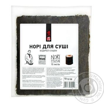 JS Nori Gold Algae 10 sheets - buy, prices for Auchan - photo 1