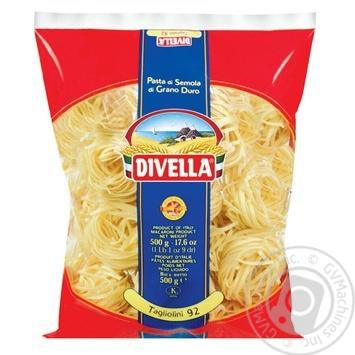 Макарони Divella Tagliolini Semola 500г
